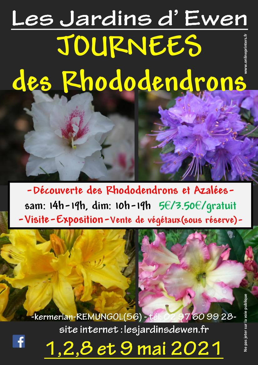 Affiche rhododendrons 2022