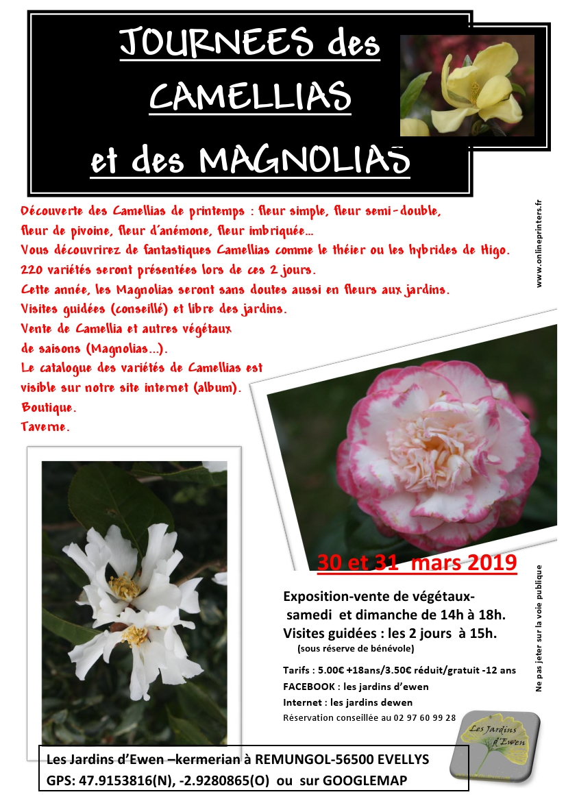 Prospectus camellias printemps verso 2019